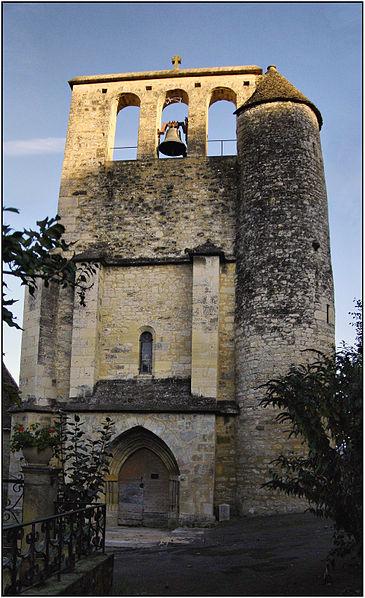 Photo du Monument Historique Eglise Saint-Martin et Sainte-Croix situé à Allas-les-Mines