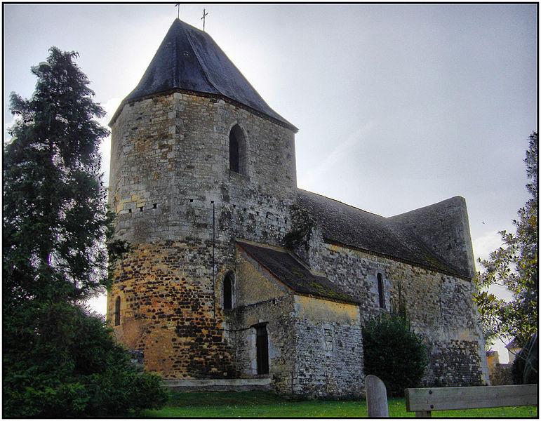 Photo du Monument Historique Eglise Saint-Pierre situé à Audrix