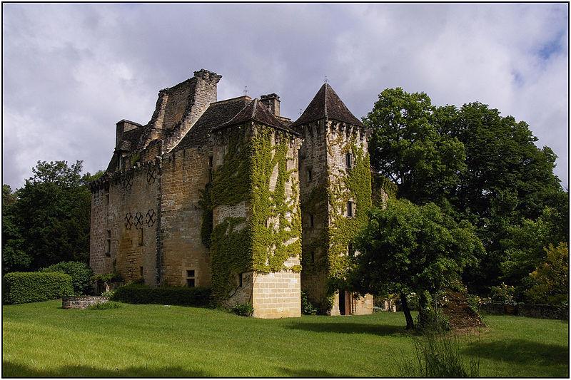 Photo du Monument Historique Château de la Faye situé à Auriac-du-Périgord