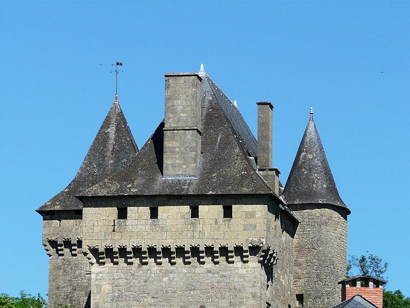 Photo du Monument Historique Château de Badefols-d'Ans situé à Badefols-d'Ans
