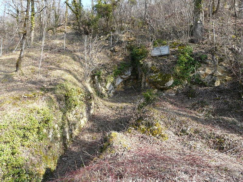 Photo du Monument Historique Gisement de la Gravette situé à Bayac