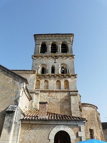 Photo du Monument Historique Eglise Notre-Dame de la Nativité situé à Beauronne