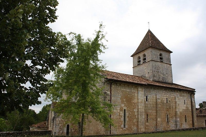Photo du Monument Historique Eglise Saint-Etienne situé à Beaussac