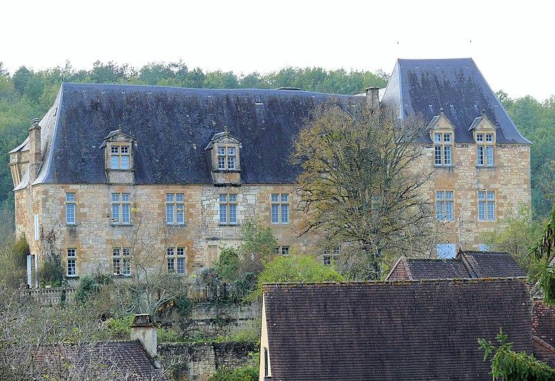 Photo du Monument Historique Château situé à Berbiguières