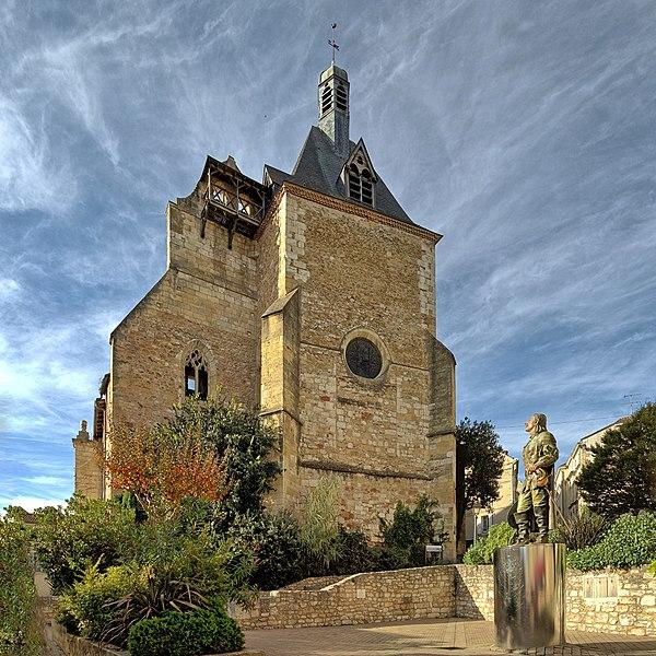 Photo du Monument Historique Eglise Saint-Jacques situé à Bergerac