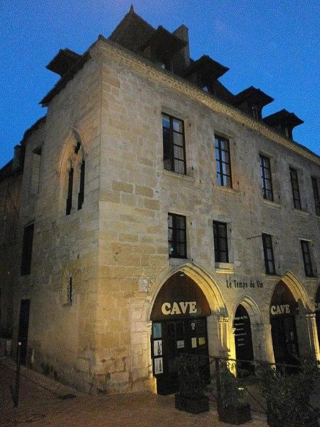 Photo du Monument Historique Immeuble situé à Bergerac