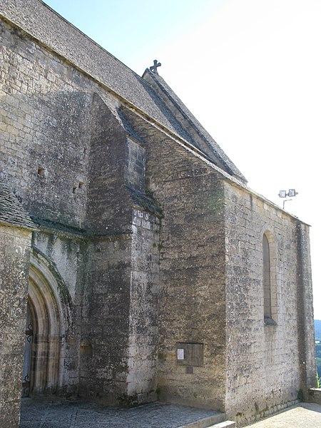 Photo du Monument Historique Eglise de Beynac situé à Beynac-et-Cazenac
