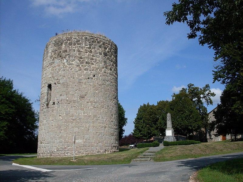 Photo du Monument Historique Tour situé à Le Bourdeix