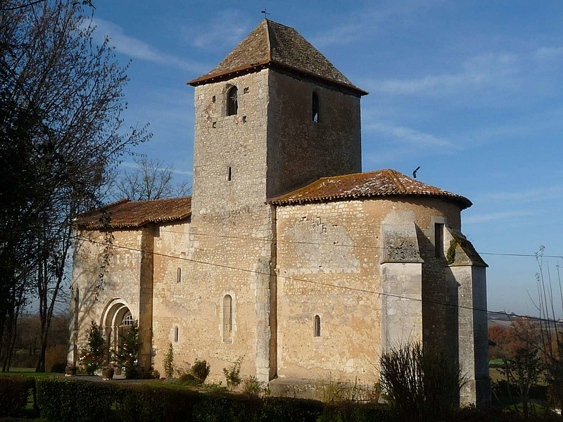 Photo du Monument Historique Eglise Notre-Dame de l'Assomption situé à Bourg-du-Bost