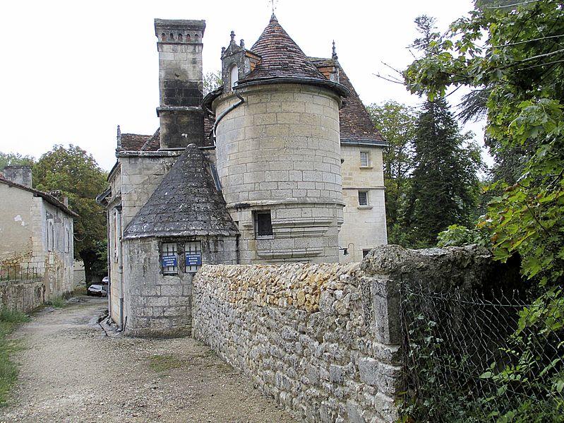 Photo du Monument Historique Castel de la Hierce situé à Brantôme