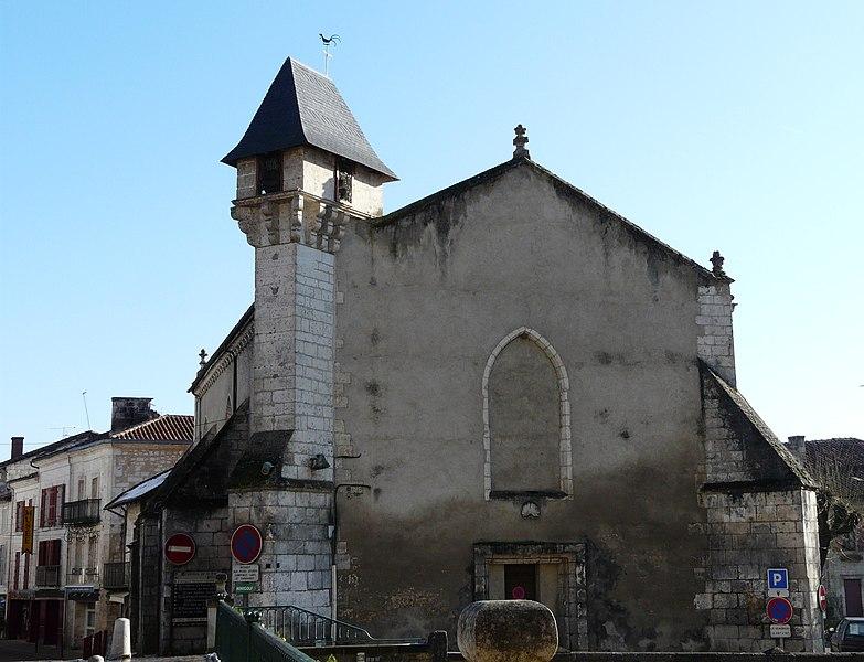 Photo du Monument Historique Ancienne église Notre-Dame situé à Brantôme