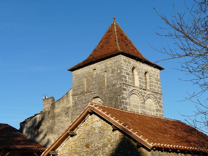 Photo du Monument Historique Vestiges de l'ancienne église Saint-Pardoux-de-Faix ou du Petit-Saint-Pardoux situé à Brantôme