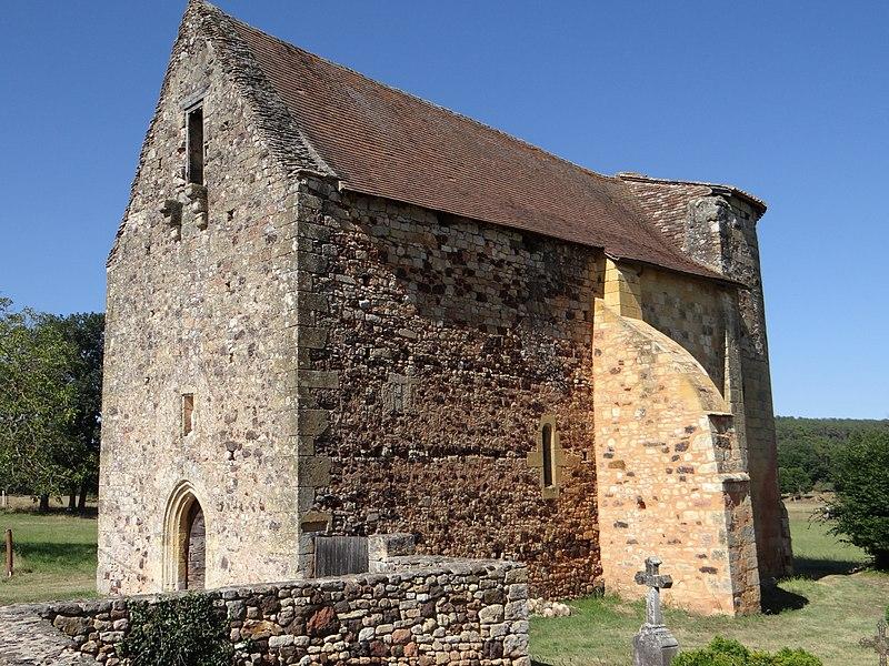Photo du Monument Historique Eglise Saint-Barthélémy de Salles situé à Le Buisson-de-Cadouin