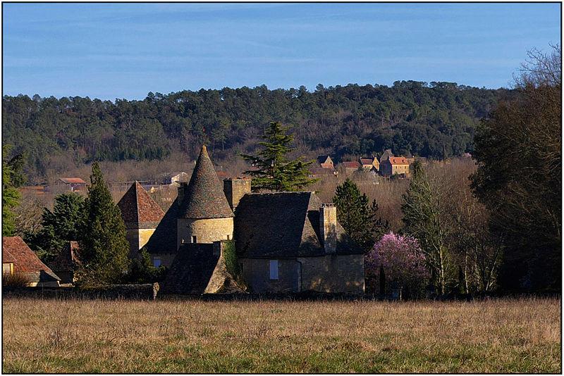 Photo du Monument Historique Château de Lascours situé à Carsac-Aillac