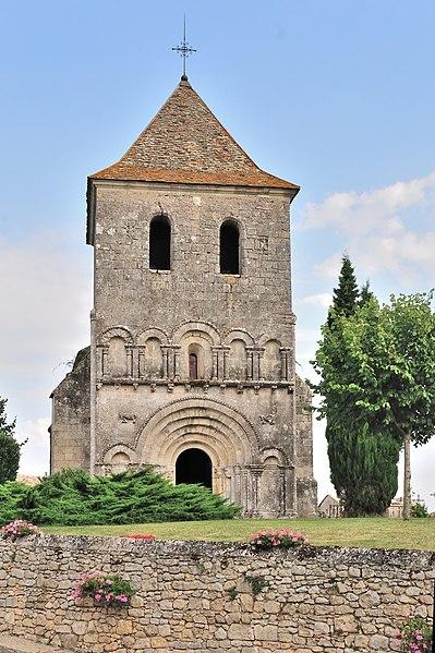 Photo du Monument Historique Eglise Saint-Pierre de Carsac situé à Carsac-de-Gurson
