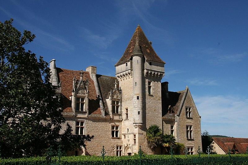 Photo du Monument Historique Château des Milandes situé à Castelnaud-la-Chapelle