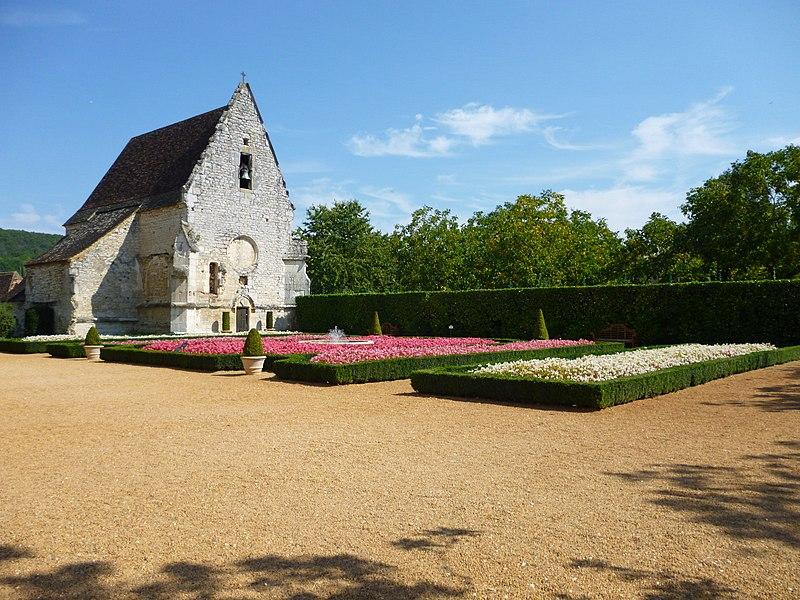 Photo du Monument Historique Eglise ou chapelle des Milandes situé à Castelnaud-la-Chapelle