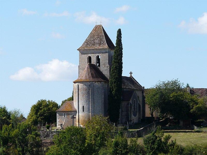 Photo du Monument Historique Eglise Notre-Dame de l'Assomption situé à Cause-de-Clérans
