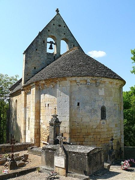 Photo du Monument Historique Eglise de Saint-Julien situé à Cénac-et-Saint-Julien