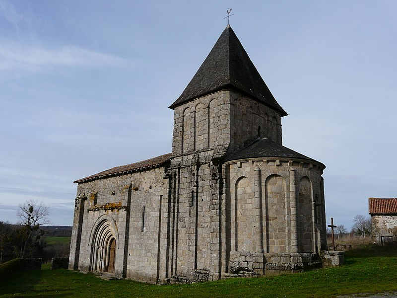 Photo du Monument Historique Eglise Saint-Paul de Reilhac situé à Champniers-et-Reilhac