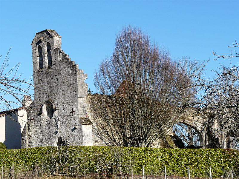Photo du Monument Historique Prieuré de Notre-Dame de Puymartin situé à Chapelle-Faucher (La)