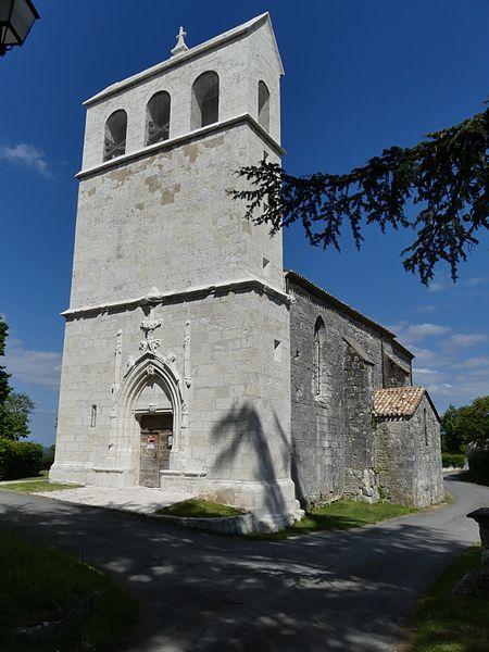 Photo du Monument Historique Eglise situé à Colombier