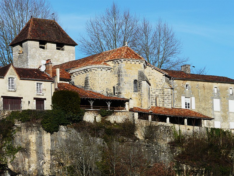 Photo du Monument Historique Eglise Saint-Etienne situé à Condat-sur-Trincou