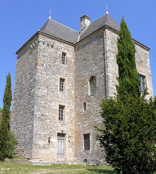 Photo du Monument Historique Château de Peyruzel situé à Daglan