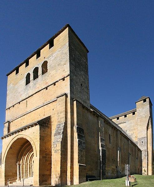 Photo du Monument Historique Eglise Saint-Martin de Tayac situé à Eyzies-de-Tayac-Sireuil (Les)