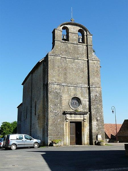 Photo du Monument Historique Eglise de la Décollation de Saint-Jean-Baptiste situé à Fanlac