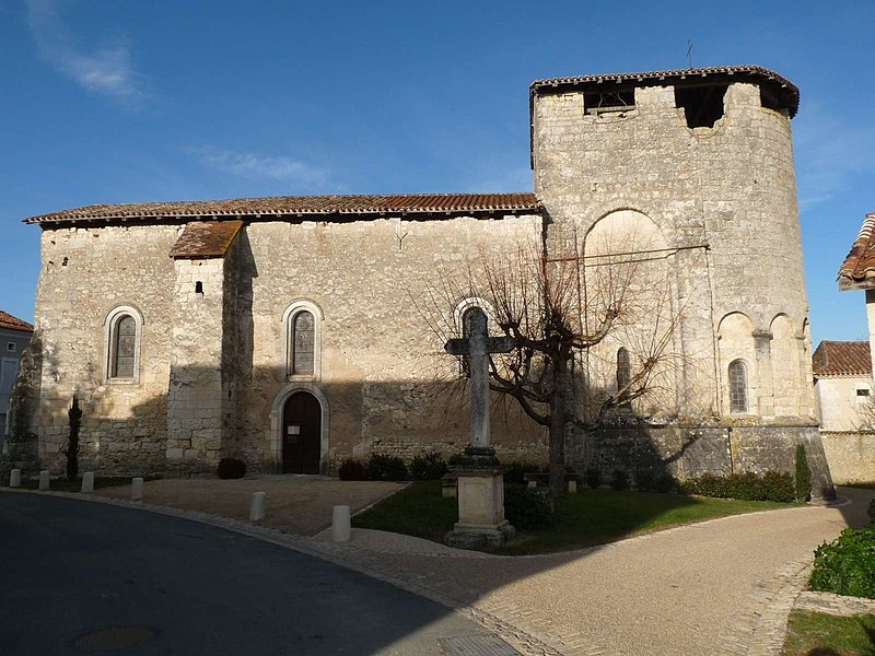 Photo du Monument Historique Eglise Saint-Martin situé à Festalemps