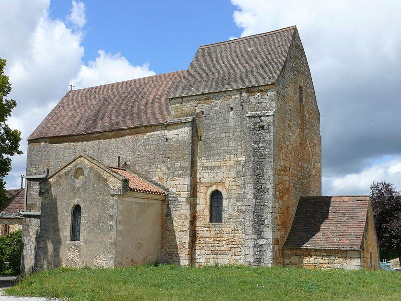 Photo du Monument Historique Eglise de Florimont situé à Florimont-Gaumier