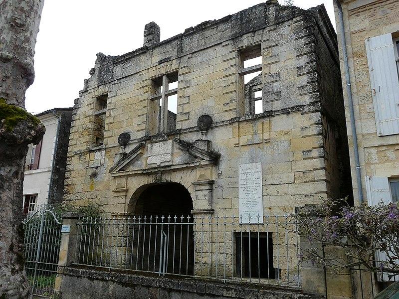 Photo du Monument Historique Château situé à La Force