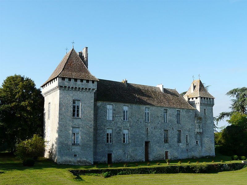 Photo du Monument Historique Château de Gageac situé à Gageac-et-Rouillac