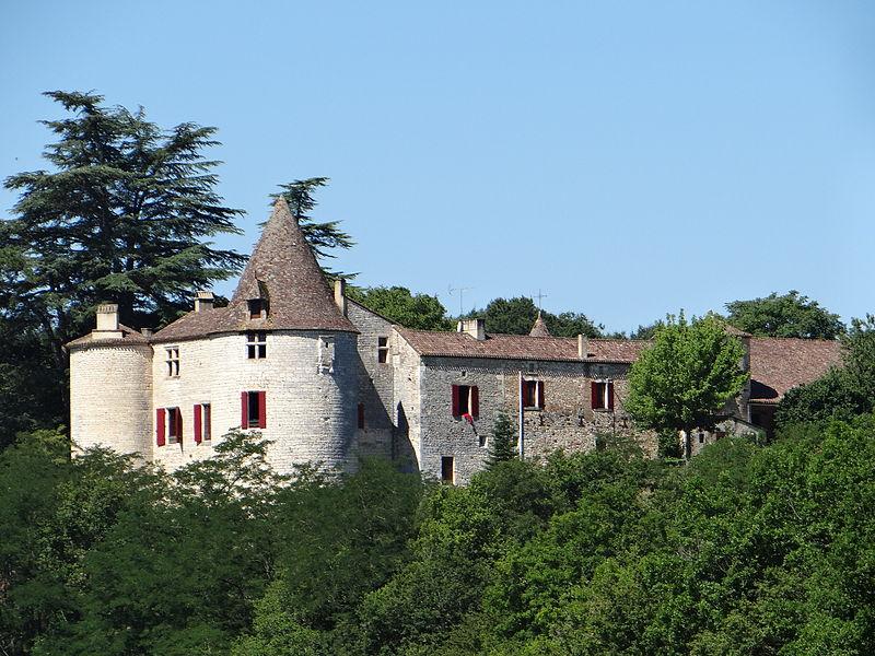 Photo du Monument Historique Château Saint-Germain situé à Gaugeac
