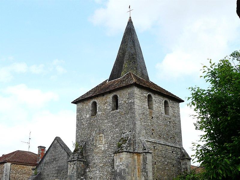 Photo du Monument Historique Eglise de Javerlhac situé à Javerlhac-et-la-Chapelle-Saint-Robert