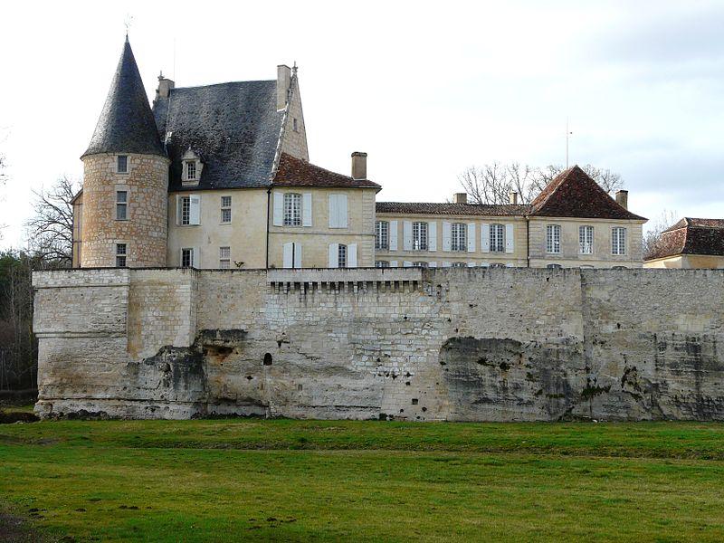 Photo du Monument Historique Château de Montastruc situé à Lamonzie-Montastruc