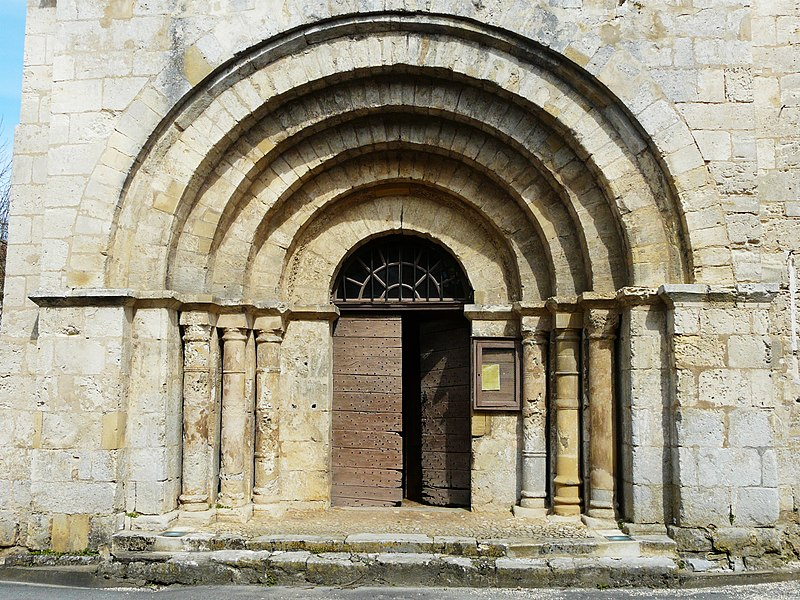 Photo du Monument Historique Eglise Notre-Dame de l'Assomption situé à Lamonzie-Montastruc