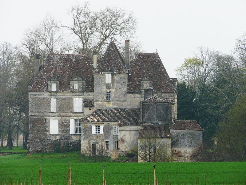 Photo du Monument Historique Château de Saint-Martin situé à Lamonzie-Saint-Martin