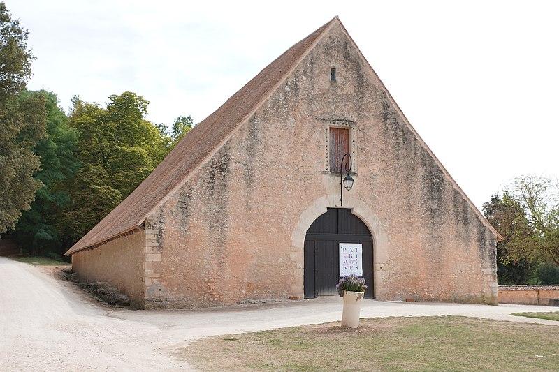 Photo du Monument Historique Grange situé à Lanquais