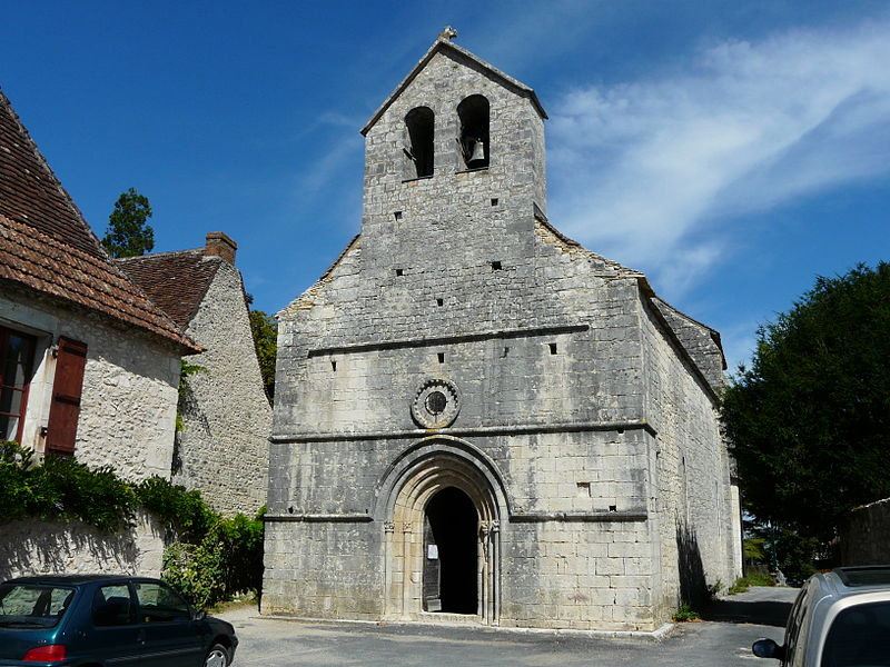 Photo du Monument Historique Eglise Saint-Hilaire situé à Limeyrat