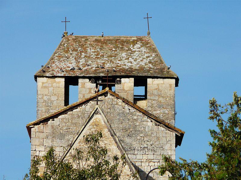Photo du Monument Historique Eglise Saint-Martin situé à Liorac-sur-Louyre