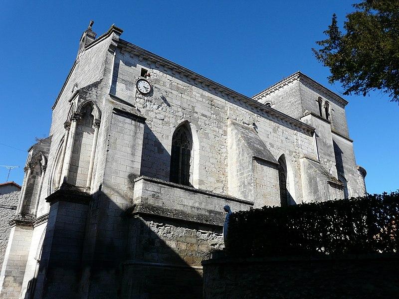 Photo du Monument Historique Eglise Saint-Martin situé à Lisle