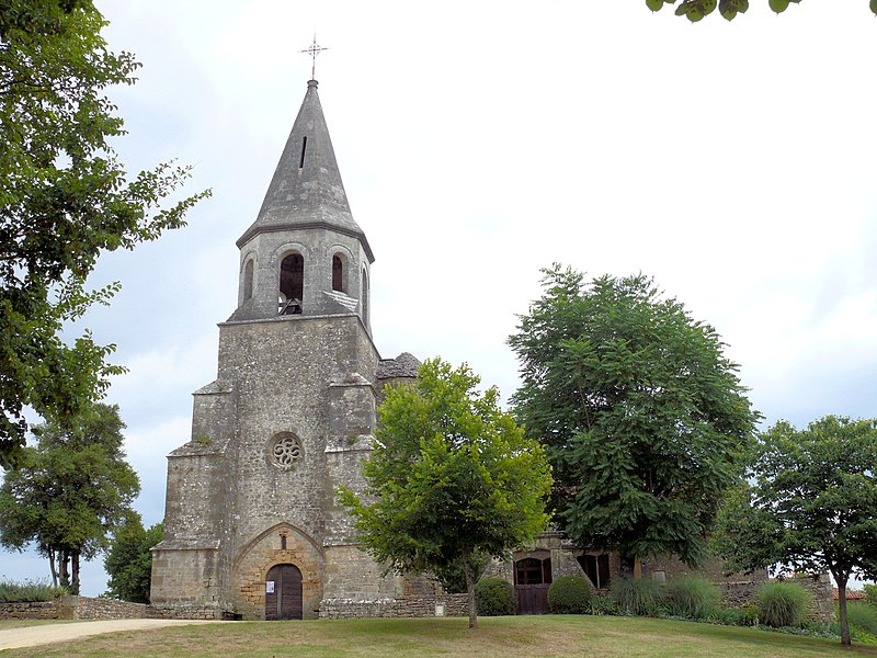 Photo du Monument Historique Eglise Saint-Pierre-ès-Liens situé à Loubejac