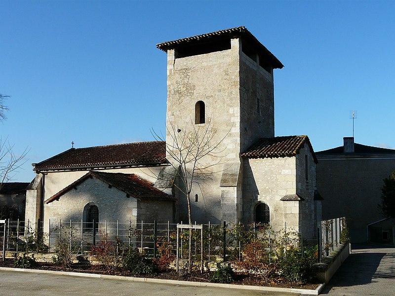 Photo du Monument Historique Eglise Saint-Saturnin situé à Marsac-sur-l'Isle