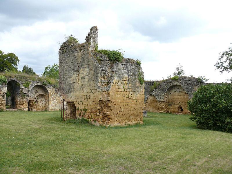 Photo du Monument Historique Ruines du château-fort situé à Molières