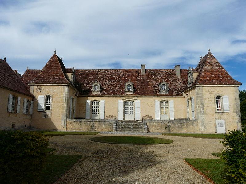 Photo du Monument Historique Manoir de Sautet situé à Molières