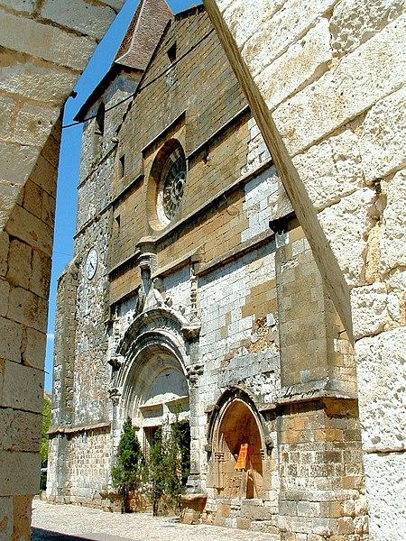 Photo du Monument Historique Eglise Saint-Dominique situé à Monpazier
