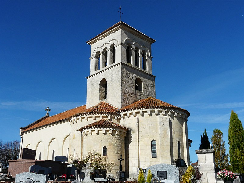 Photo du Monument Historique Eglise Sainte-Madeleine situé à Montagrier