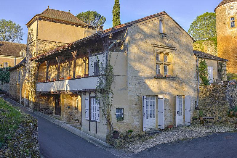 Photo du Monument Historique Maison du 16e siècle situé à Montferrand-du-Périgord